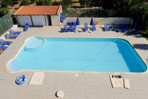 Flisvos auf Kreta mit Ferienwohnung mit Eigenem Pool