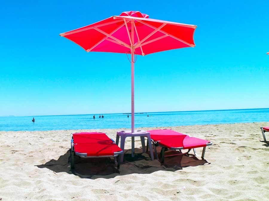 Liegestuhl Kreta sandstrand, Kreta Zimmer, Ihr Urlaub