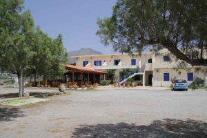 Kreta Flisvos, Bietet Ferienwohnungen und Zimmer direkt am Meer in Frangokastello