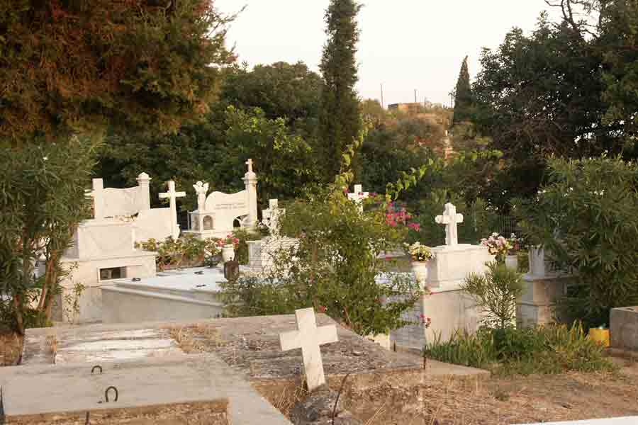 Friedhof in Sfakia Kreta