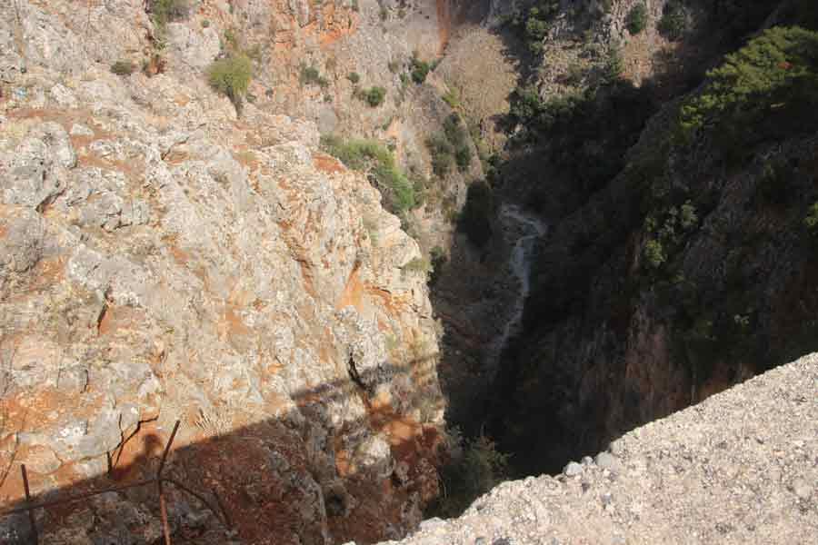 Aradena schlucht Wandern auf Kreta