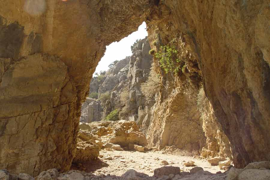 Imbrosschlucht, Wanderungen auf Kreta