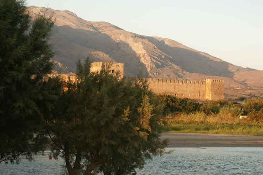 altes venezianisches Kastell in Frangokastello Kreta