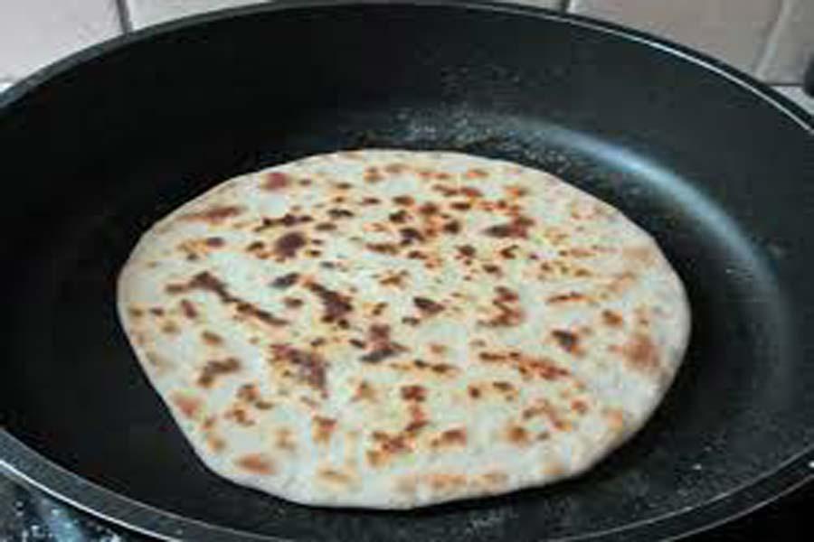 Sfakian pita auf kretischer Pfannkuchen