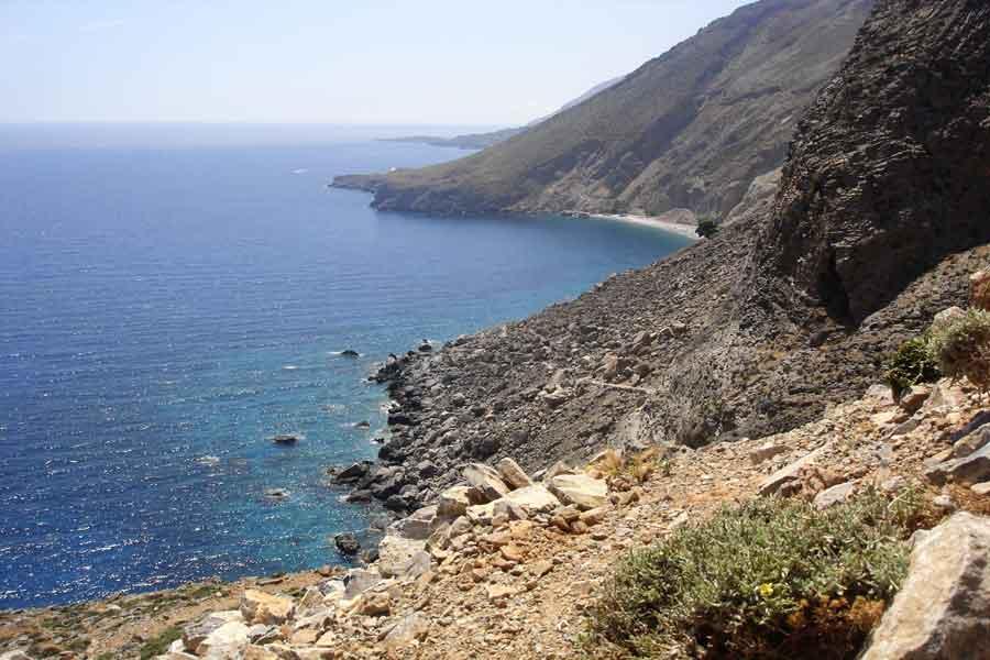 kreta Wandern von Chora Sfakion nach Loutro