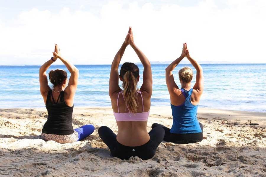 Yoga auf Kreta